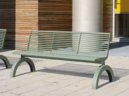 SIARDO 140R | Panchina con schienale
