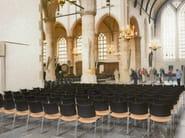 Cadeira de conferência trenó empilhável CURVY | Cadeira trenó by Casala