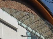 CLOCK Realizzazione pensilina CLOCK - BRESCIA 2010