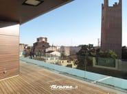 Parapetto in vetro NINFA by FARAONE