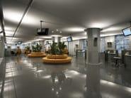 Pavimento galleggiante Banca Unicredit (Milano)