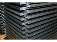 Punzonatura e Piegatura Lamiere Particolari realizzati con lamiera zincata