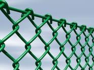 Recinzione di sicurezza in acciaio zincato