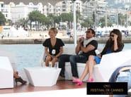 FAZ | Lettino da giardino Vondom al Festival di Cannes