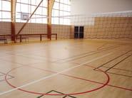Pavimentazione sportiva resiliente