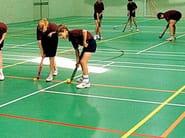 Pavimentazione sportiva resiliente per pattinaggio a rotelle