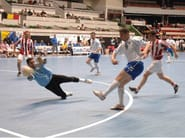 Pavimentazione sportiva resiliente in poliuretano