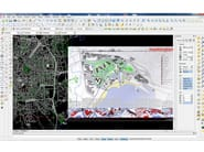 CAD NAMIRIAL CAD Namirial - Esempio cartografia vettoriale e immagini raster