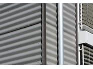 SINUS® Facciata realizzata con Sistema di facciata SINUS VM ZINC®