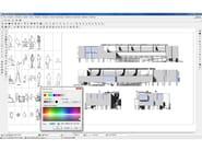 BM CAD BM CAD - Esempio disegno architettonico (inserimento blocchi e immagini raster)