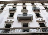 Cornice per facciate in EPS Decorazione Palazzo in Via Zenale, Milano