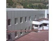 Facciate ventilate metalliche isolanti TUDERBOND® - Facciate architettoniche by ELCOM SYSTEM