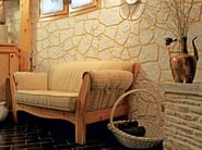 MURO STAMPATO Deattaglio muro stampato in taverna