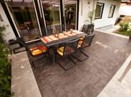 Calcestruzzo Stampato Per Esterni : Pavimento continuo per esterni stampato pavimento stampato by ideal work