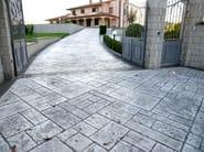 Calcestruzzo Stampato Per Esterni : Pavimento per esterni in calcestruzzo pavimento stampato ideal work