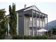 Doga di rivestimento in alluminio Casa privata in doghe di rivestimento PREFA
