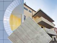 Soluzione a secco in cemento alleggerito AQUAROC by Saint-Gobain Gyproc
