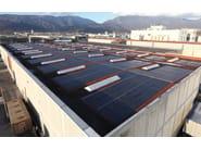 TEGOSOLAR tetto piano con fotovoltaico integrato