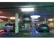 Sistema di parcheggio per due auto sovrapposte
