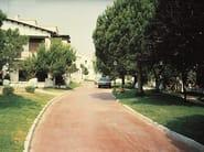 Calcestruzzo per pavimentazioni prive di giunti contrazione
