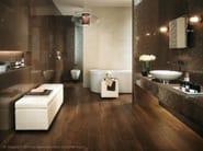 MARVEL WALL | Rivestimento in ceramica a pasta bianca Bronze Luxury