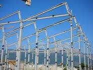 Sistema costruttivo in carpenteria metallica