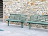 SIARDO 400 R | Panchina con schienale