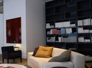 Sectional wooden bookcase JOLY by Meridiani