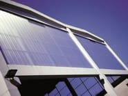 ARCOPLUS® 344X Tamponamento verticale in policarbonato traslucido