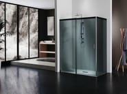 ACQUA 5000 Box doccia in cristallo con porta scorrevole