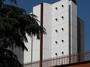 TRAVERTINO Matrice per parete facciavista in calcestruzzo