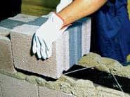 Multilayer block in expanded clay concrete LECABLOCCO BIOCLIMA ZERO by Anpel