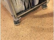 Pavimento statico dissipativo in PVC