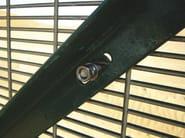 Recinzione in rete elettrosaldata RECINTHA® SAFETY by NUOVA DEFIM