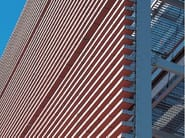 ZONDA XL® Sistema frangisole per facciata