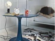 LED direct light sandblasted glass table lamp LAMPADINA by Flos