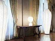 LED cocoon resin table lamp with dimmer Cocoon GATTO by Flos