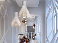 Stainless steel pendant lamp CHASEN by Flos