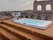 Built-in hydromassage outdoor hot tub PROFILE PRO by Jacuzzi®