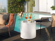 Round plexiglass coffee table HOME FITTING CILINDRO | Plexiglass coffee table by Lyxo Design