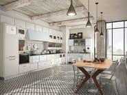 Cucina componibile laccata SAINT LOUIS - COMPOSIZIONE 04 by Marchi Cucine