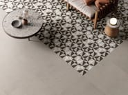 Porcelain stoneware wall/floor tiles with stone effect SILVER GRAIN DECOR by Italgraniti