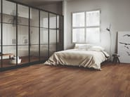 Porcelain stoneware wall/floor tiles with wood effect SLLEK WOOD MOHOGANY by EmilCeramica