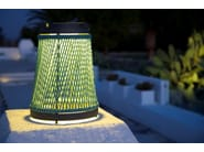 Polyolefin rope solar powered lantern SOLARE | Solar powered lantern by Unopiù