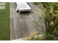 Porcelain stoneware wall/floor tiles with wood effect VIBE CINDER by Ceramiche Caesar