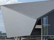 Copertura ventilata in zinco titanio
