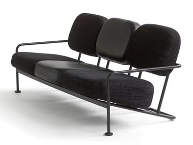 3 seater leather sofa ÅHUS XL