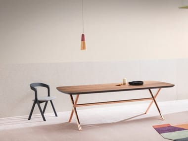 Rectangular wooden table ÉMILE