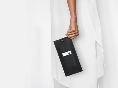 Leather gadget case ÉTUI I