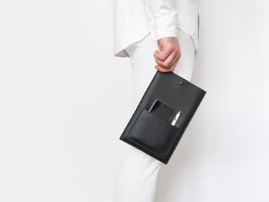 Leather gadget case ÉTUI II